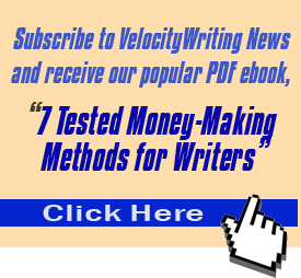 velocitywriting.com newsletter subscribe